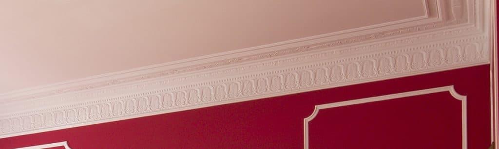 image of decorative plaster cornice