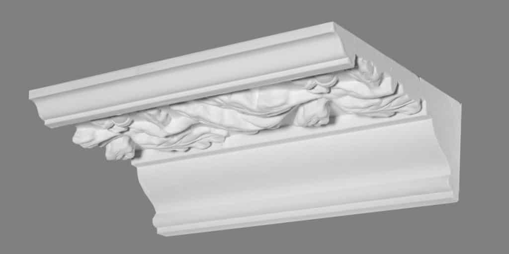 image of plaster cornice sample