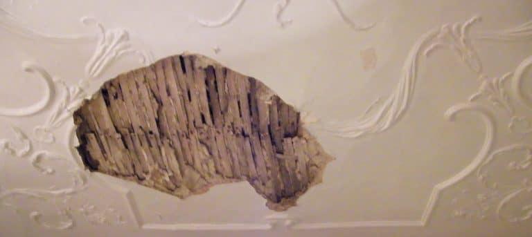 image of lath and plaster repair