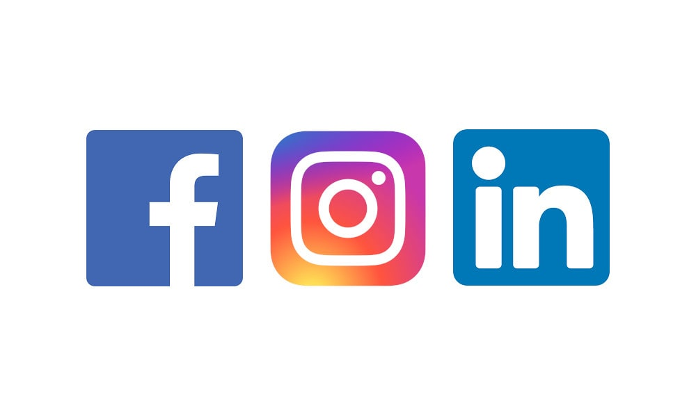 image of Plasterite social media channel icons