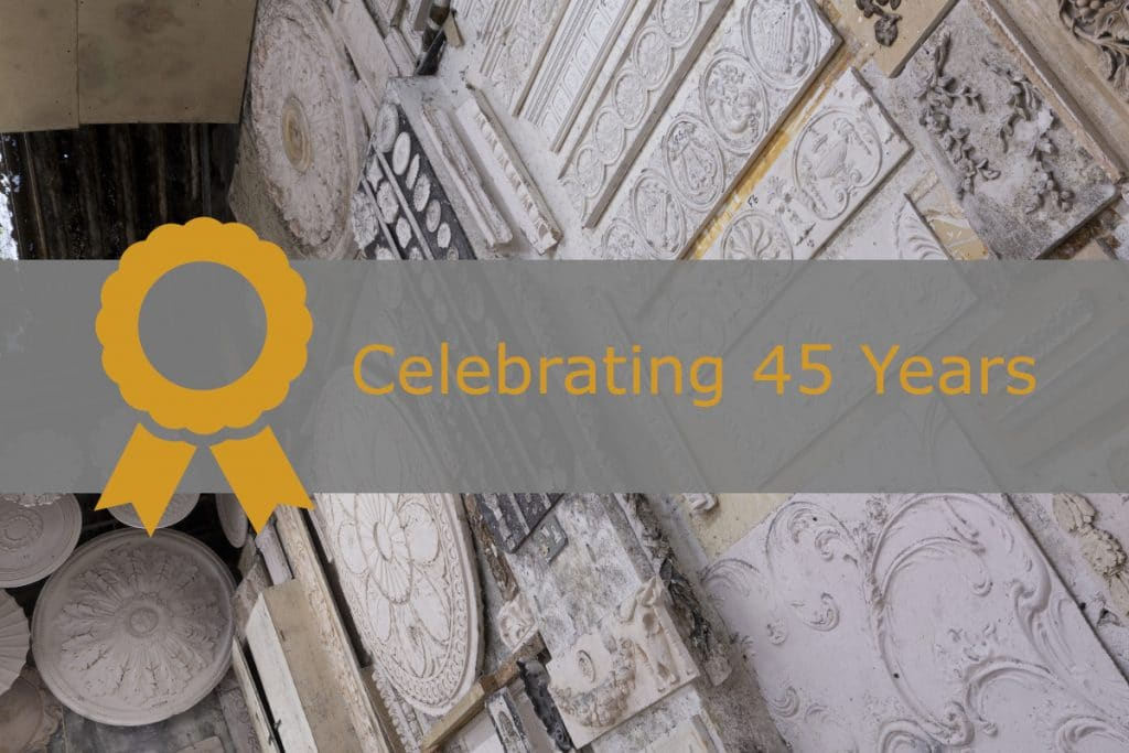 plasterite is celebrating 45 years in business