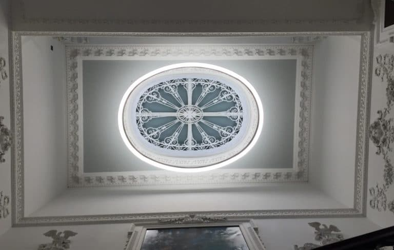 image of plaster ceiling mouldings and cornice
