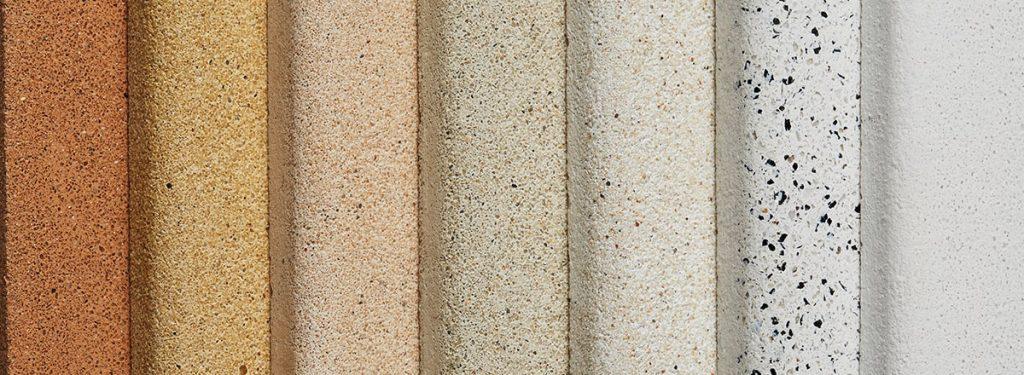 Jesmonite AC730 cast stone finishes