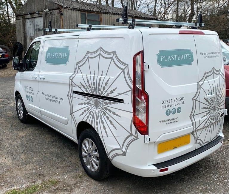 image of plasterite van