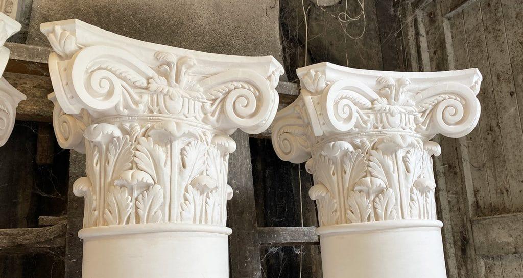 image of corinthian capital mouldings